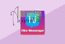 Hike Messenger للاندرويد للدردشة المجانية