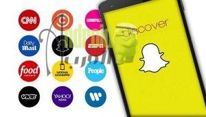 المحتوي الصحفي علي سناب شات Snapchat